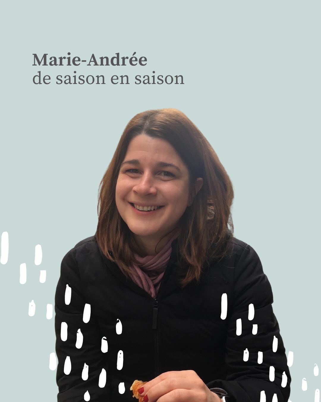 Marie-Andrée Roy portrait de saison